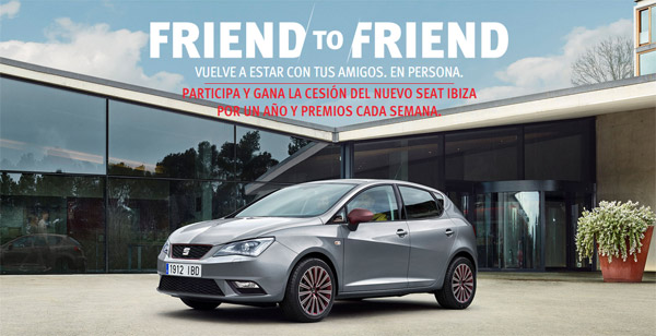 Friend to Friend by SEAT Ibiza